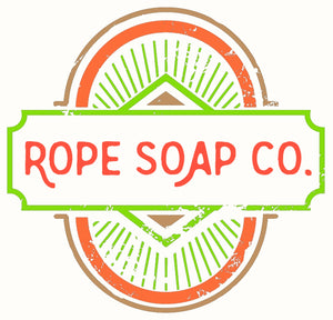 Rope Soap Co, Soap on a Rope Logo, Soap for Men, Handmade Soap, Soap Bars