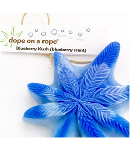 Blueberry Kush Dope on a Rope Soap