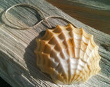 Sea Shell soap on a rope by Rope Soap Co. Stocking stuffers for her. Handmade soap, made in the USA.