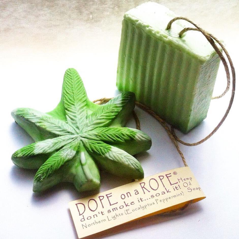 Hemp Soap Bar + Leaf Combo - Choose Your Strain (Scent)!
