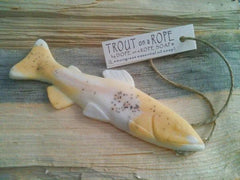 Trout Soap on a Rope - Lemongrass