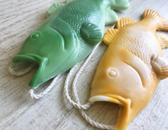 Bass Fishing, Bass Soap on a Rope, Gifts for Men, Stocking Stuffers for Men, Soap on a Rope, Funny Gifts