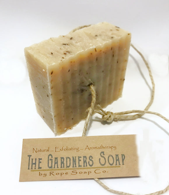 The Gardener's Soap - EXFOLIATING