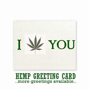 Hemp Greeting Card + Envelope - Choose Your Design