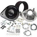 S&S Teardrop Air Cleaner Kit for 1993-'06 HD Carbureted Big Twins and 2007-'10 Softail CVO Models - Gloss Black