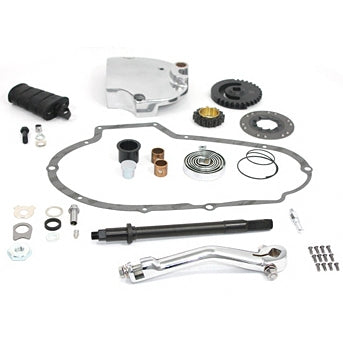 Kick & Electric Kick Starter Conversion Kit for XLH 1973-76 Sportsters
