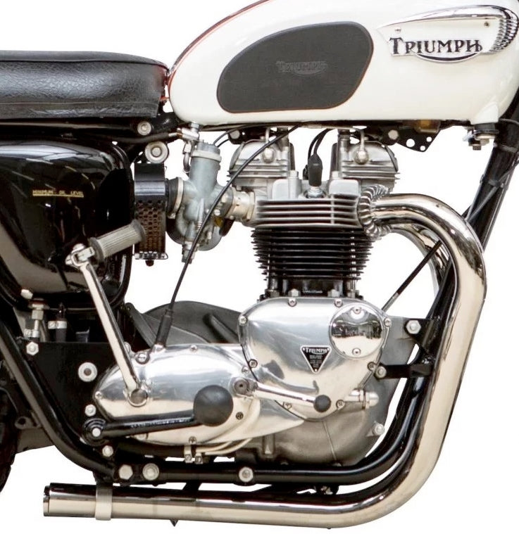 TRIUMPH 650 TT SPECIAL PIPES - WILL FIT 1963-71 UK MADE 70-5959/61