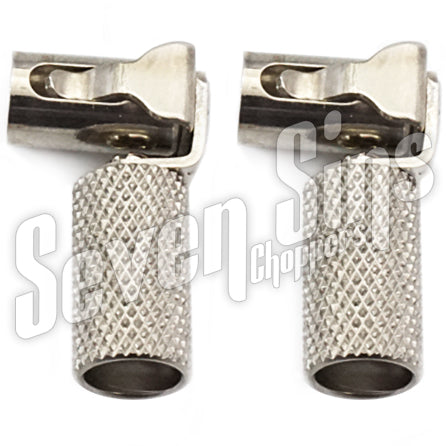 RODDER CLIPS KNURLED for 7MM IGNITION WIRE