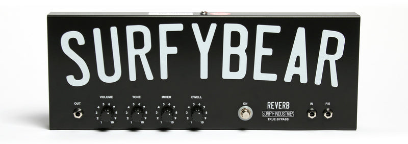Surfybear Metal Spring Reverb Unit ***BACKORDERS ONLY*** ETA END of MARCH 2021
