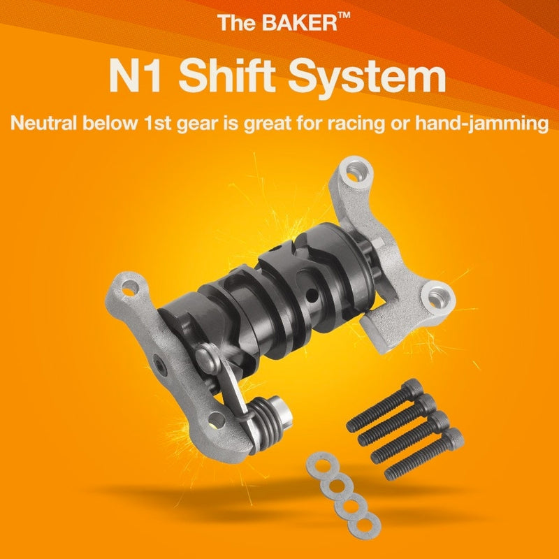 BAKER N1 SHIFT DRUM for 6-SPEED'S