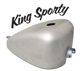 GAS TANK FLAT BOTTOM KING SPORTY 2.9G