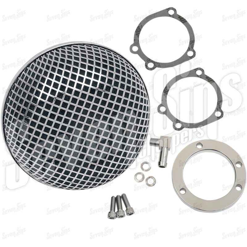 Air Cleaner - Hi-Flow KEIHIN CV BUGEYE - HARLEY '91-UP