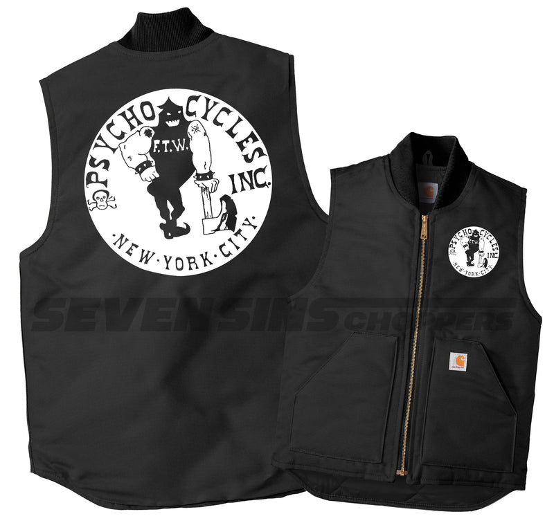 PSYCHO CYCLES INC. WORKER MECHANIC VEST