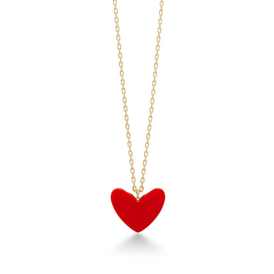 AHKAH Tiran Heart Midi Necklace