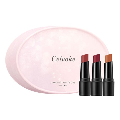 Celvoke Liberated Matte Lips Mini Kit
