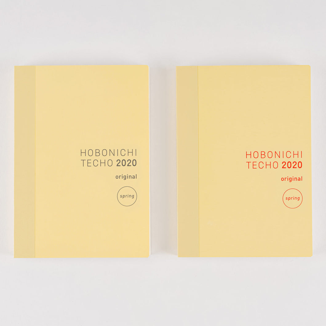 Hobonichi Techo Original Book [A6 size/ April Start]