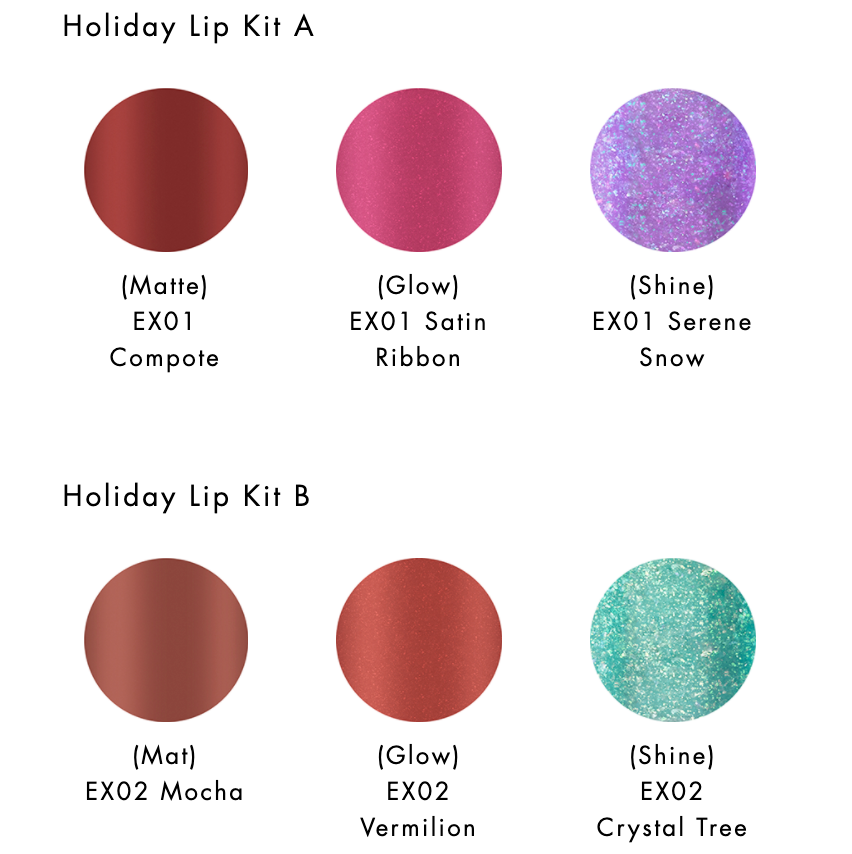 Lunasol Holiday Lip Kit
