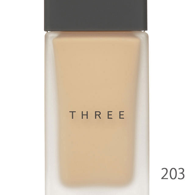 Three Flawless Ethereal Fluid Foundation 8 Shades