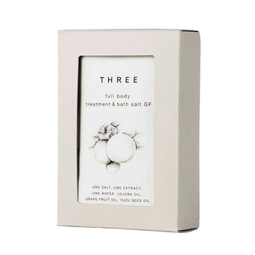 Three Full Body Treatment & Bath Salt Grapefruit