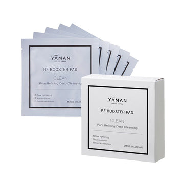 YA-MAN RF Booster Pad Cleanse & Moisture Set
