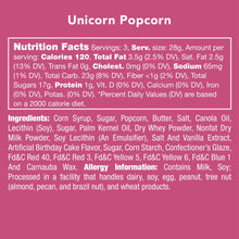 Load image into Gallery viewer, Candy Club — Unicorn Popcorn