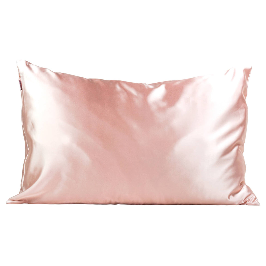 Blush Satin Pillowcase - King