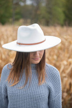Load image into Gallery viewer, You Complete Me Wide Brim Hat - White