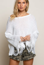 Load image into Gallery viewer, It's A Date Distressed Sweater