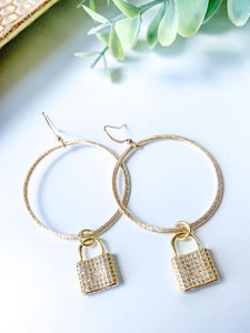 Locks of Love Earrings