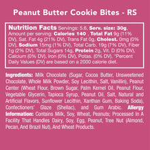 Load image into Gallery viewer, Candy Club — Peanut Butter Cookie Bites