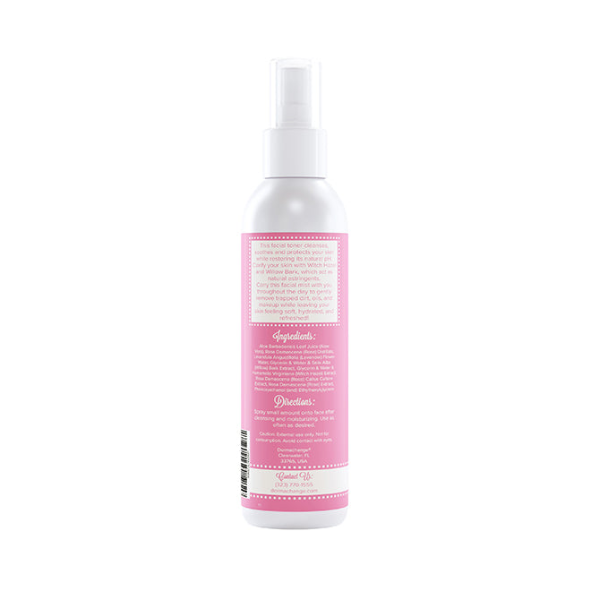 Organic Rose Water Toner Spray