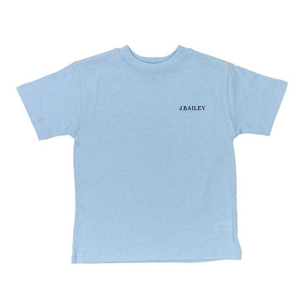 Beach Tshirt on Aqua