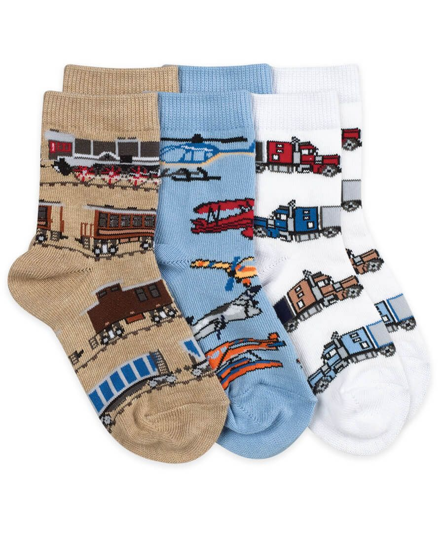 Transportation Boys Socks 1 Pair