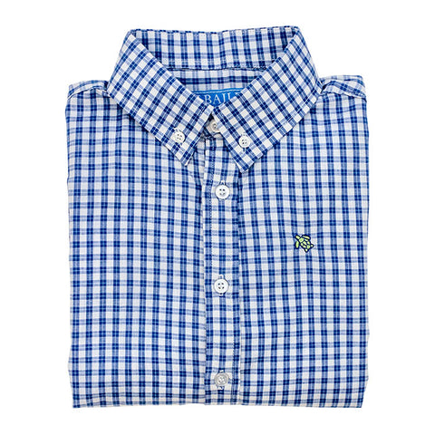 Regatta Windowpane Button Down Shirt