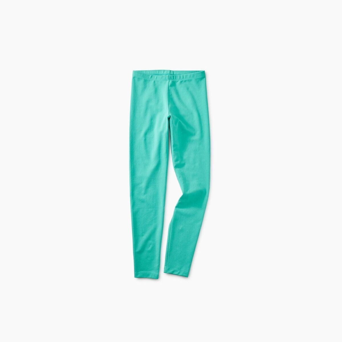Solid Legging In Light Laguna