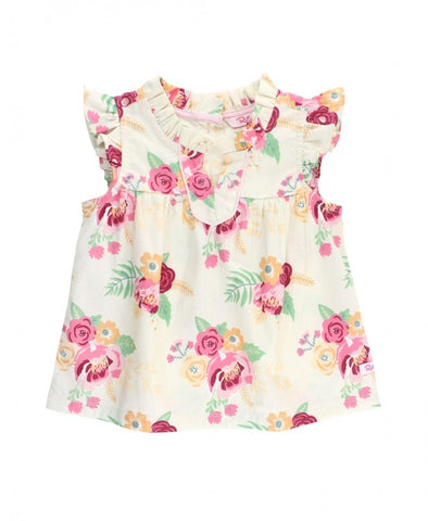 Darling Bouquets Flutter Tank Top