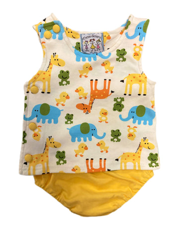 Zoo Animals Diaper Set