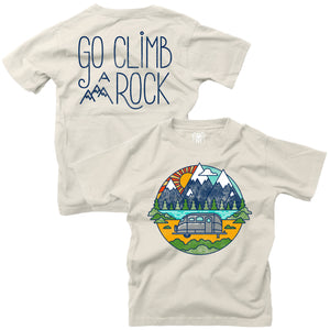 Short Sleeve FB Climb a Rock Tee