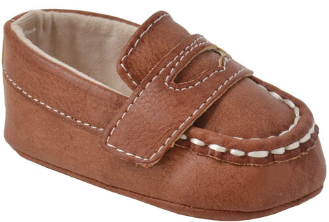 Anthony Brown Burnish Baby Penny Loafer