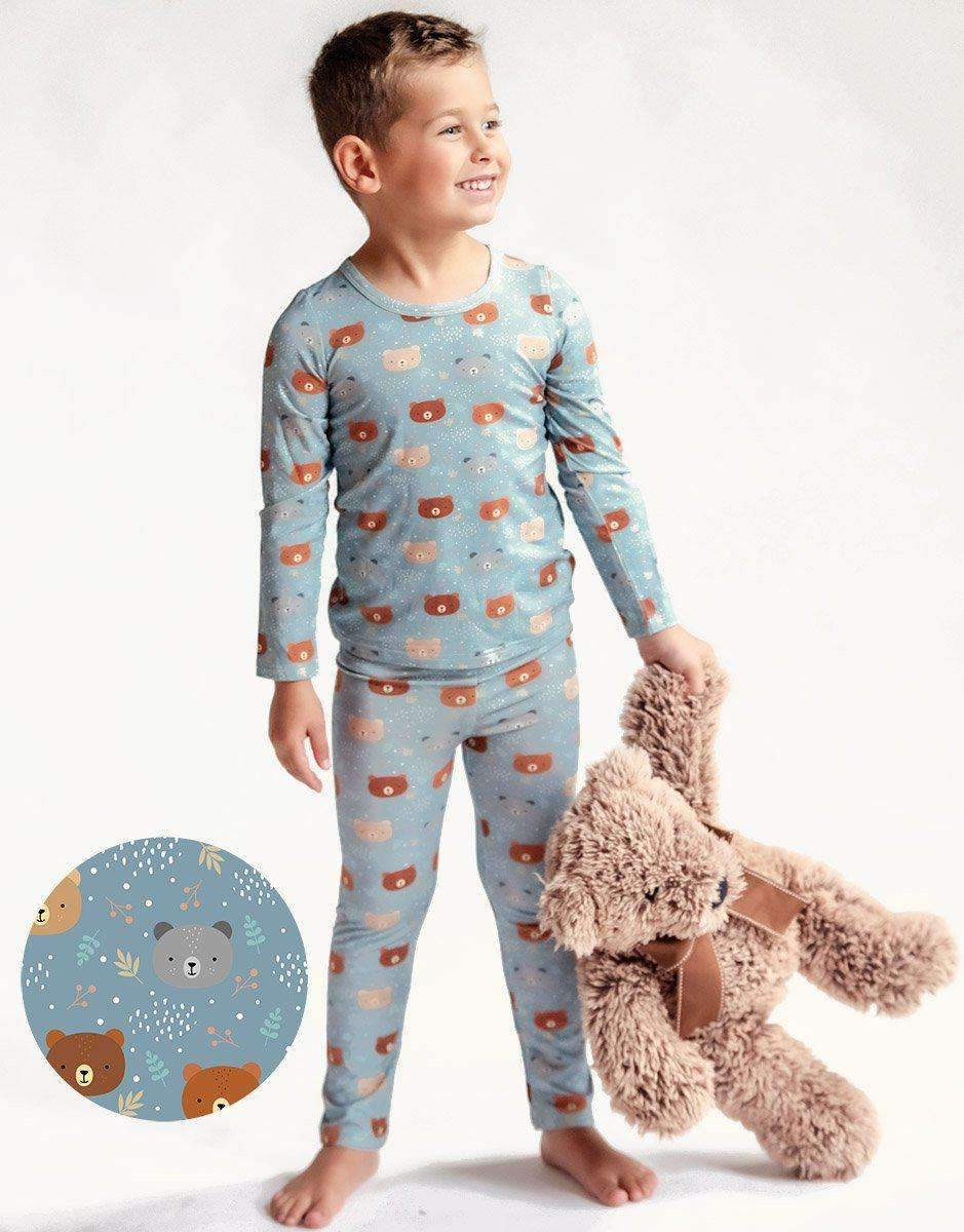 Blue Bears 2 piece Bamboo Loungewear Set