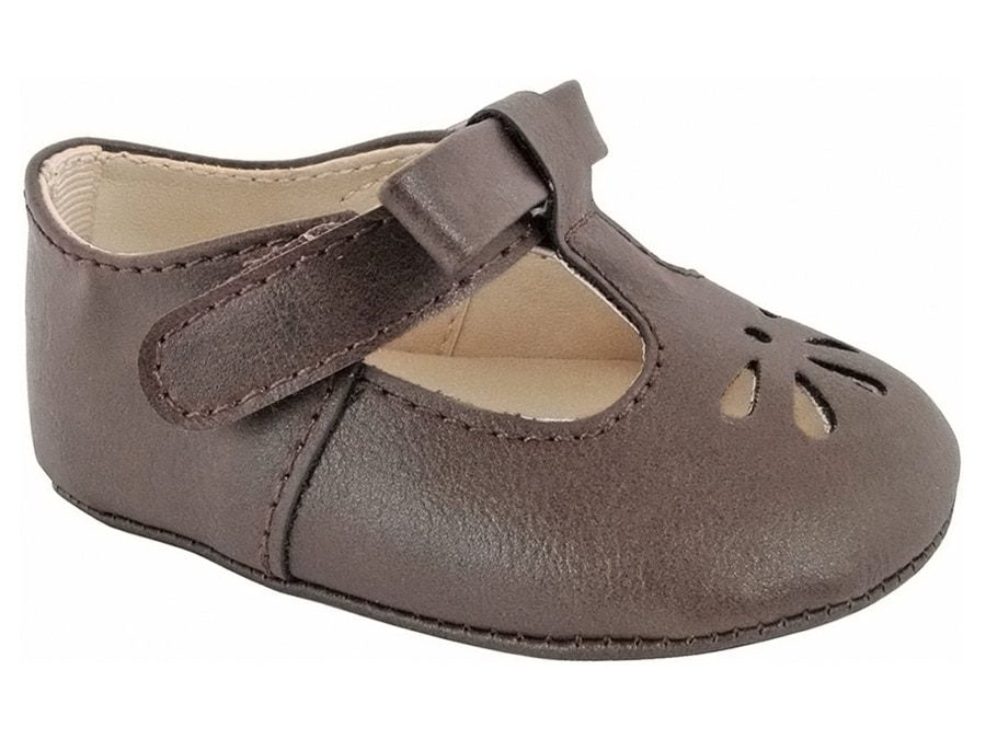 Brynna Classic Brown T-Strap Baby Maryjane