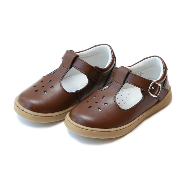 Chelsea Brown Sporty T-Strap MaryJane