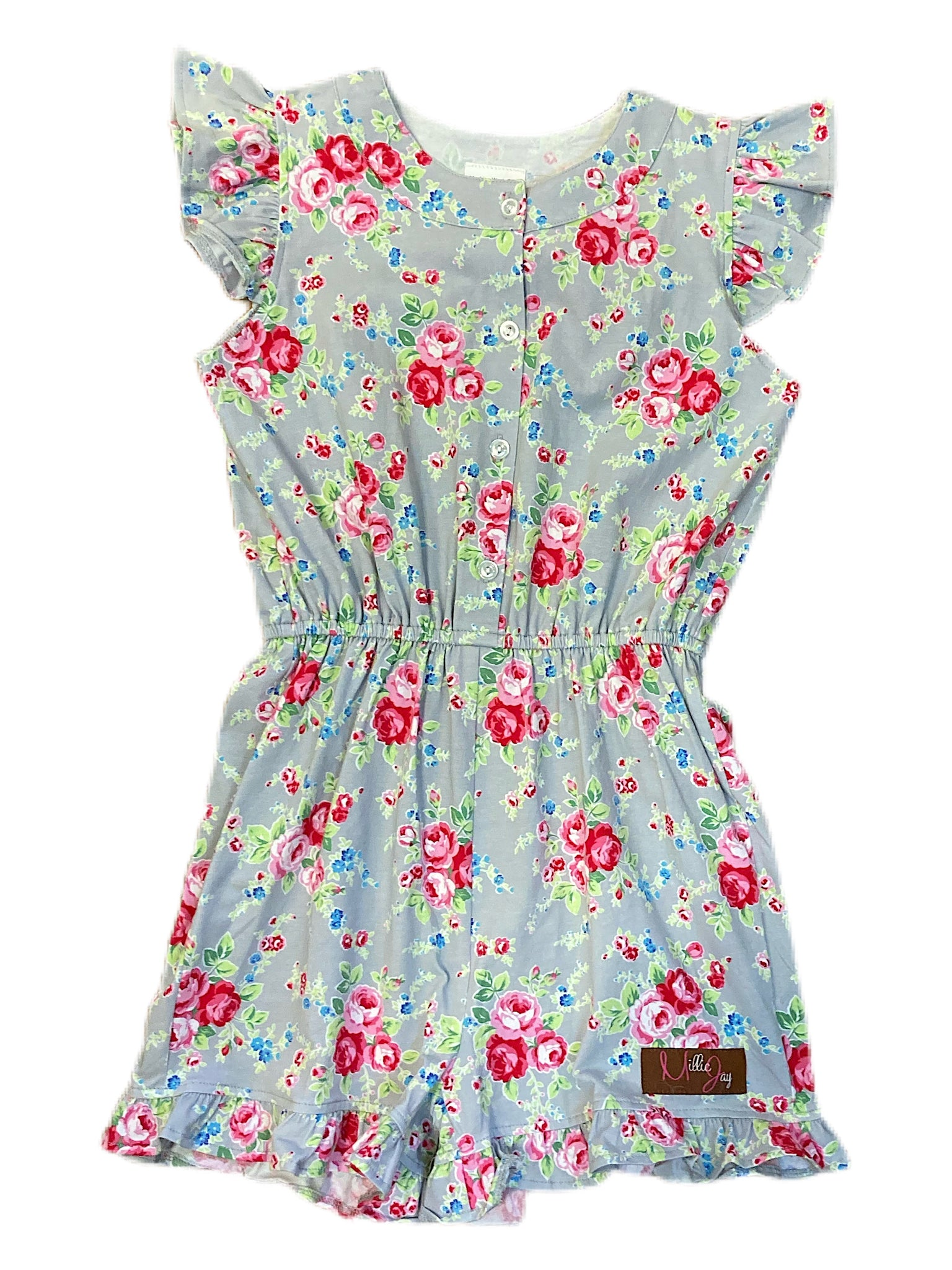 Rambling Rose Everlee Romper