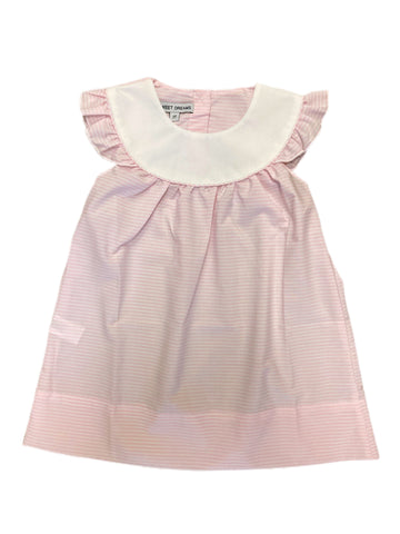 Annie Pink Stripe Dress