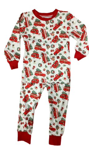 Christmas Car Two Piece Pajama