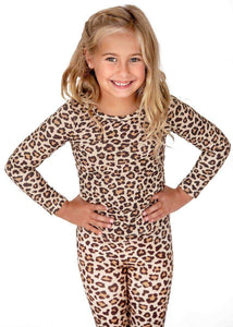 Leopard 2 piece Bamboo Loungewear Set