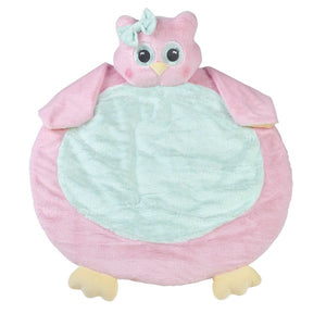 Lil' Hoots Pink Owl Belly Blanket