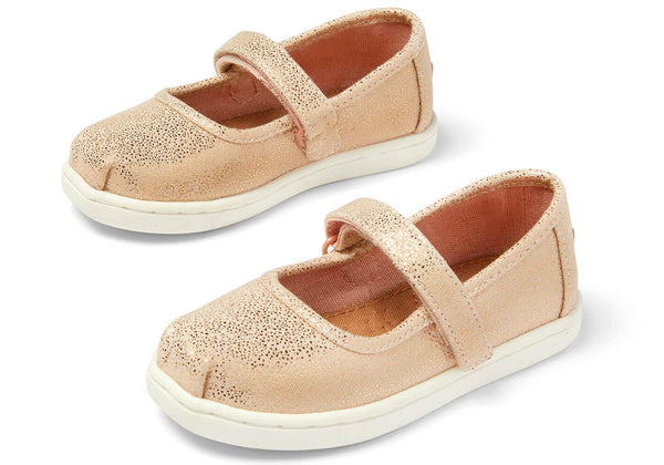 Tiny Mary Jane Slip-On Toms