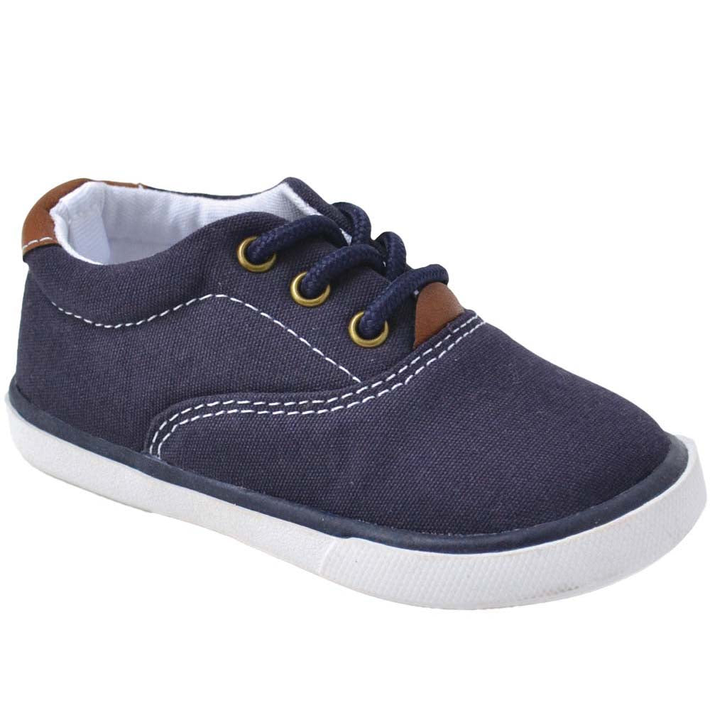 Milo Navy Canvas Sneaker