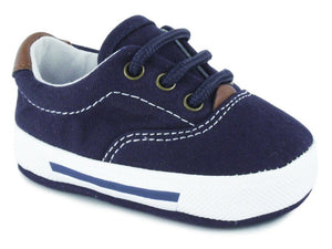 Milo Navy Baby Canvas Sneaker